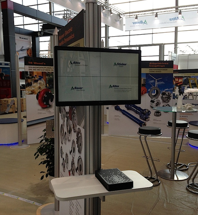 Messe Hannover 2013 - Altra (Touch Terminal)